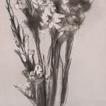 Квіти. Гладіолуси, the Flowers. Gladiolus. 440х1600